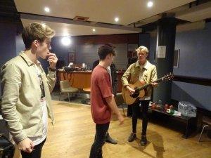 New Hope Club, Josh Taylor, The Hara, Backstage, UK Tour
