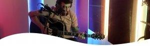 Simon Walker, UK guitarist, UK singer, Cedar West Studio, Recording Studio
