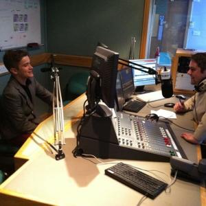 max Bowker, Radio station, Radio interview, UK singer